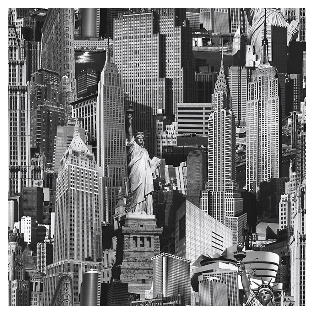 New york city wallpaper black white 102503