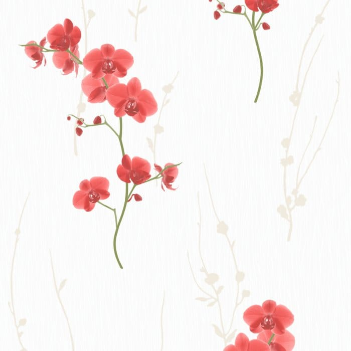 Muriva Wallpaper With Paint Brushes