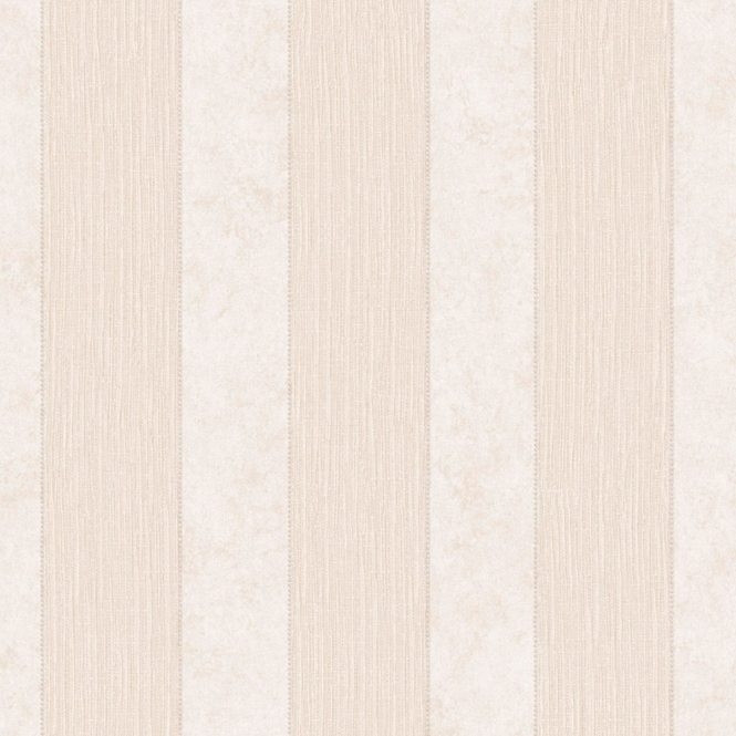 Muriva Serafina Stripe Heavyweight Vinyl Wallpaper Bone (701312)