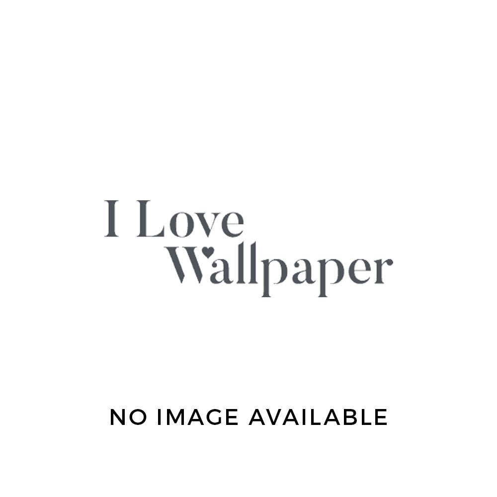 Mustique Floral Leaf Flock Wallpaper Silver