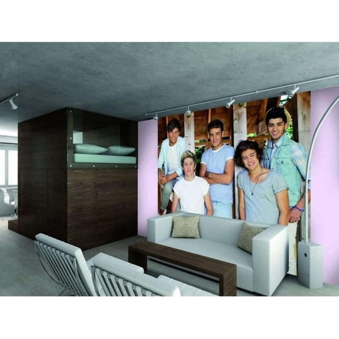 1 Wall Official One Direction Barn Wall Mural 1D