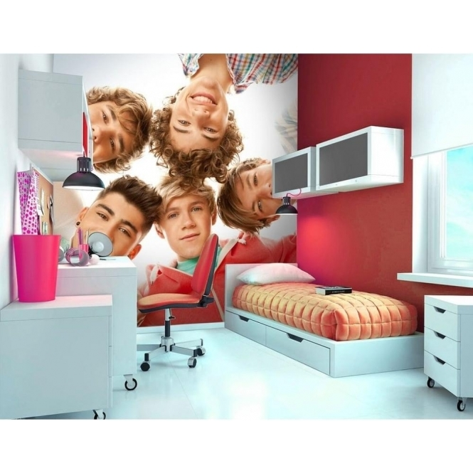 1 Wall Official One Direction Circle Wall Mural 1D
