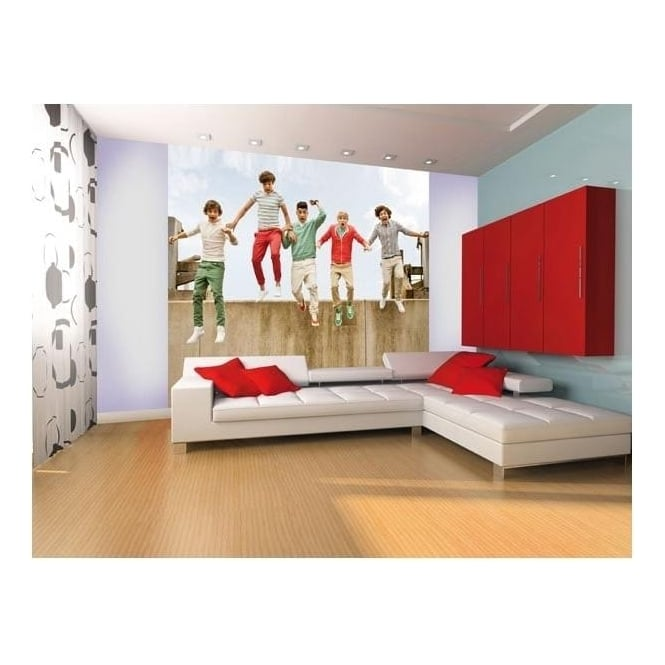 1 Wall Official One Direction Jump Wall Mural 1D