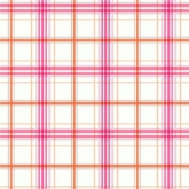 Opera Check Mate Wallpaper Pink Orange