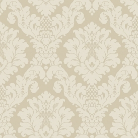 Opera Da Vinci Damask Wallpaper Cream