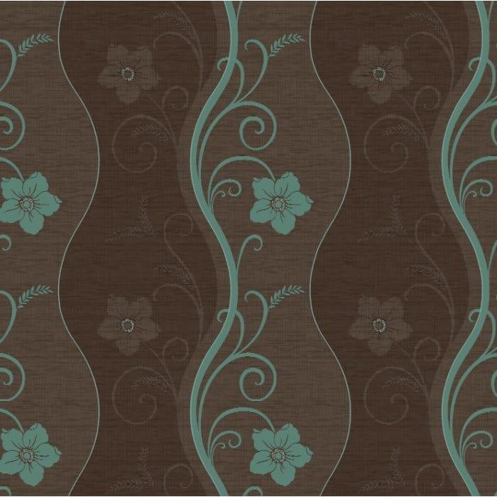 Arthouse Opera Rhythm Chocolate Brown Teal 614404
