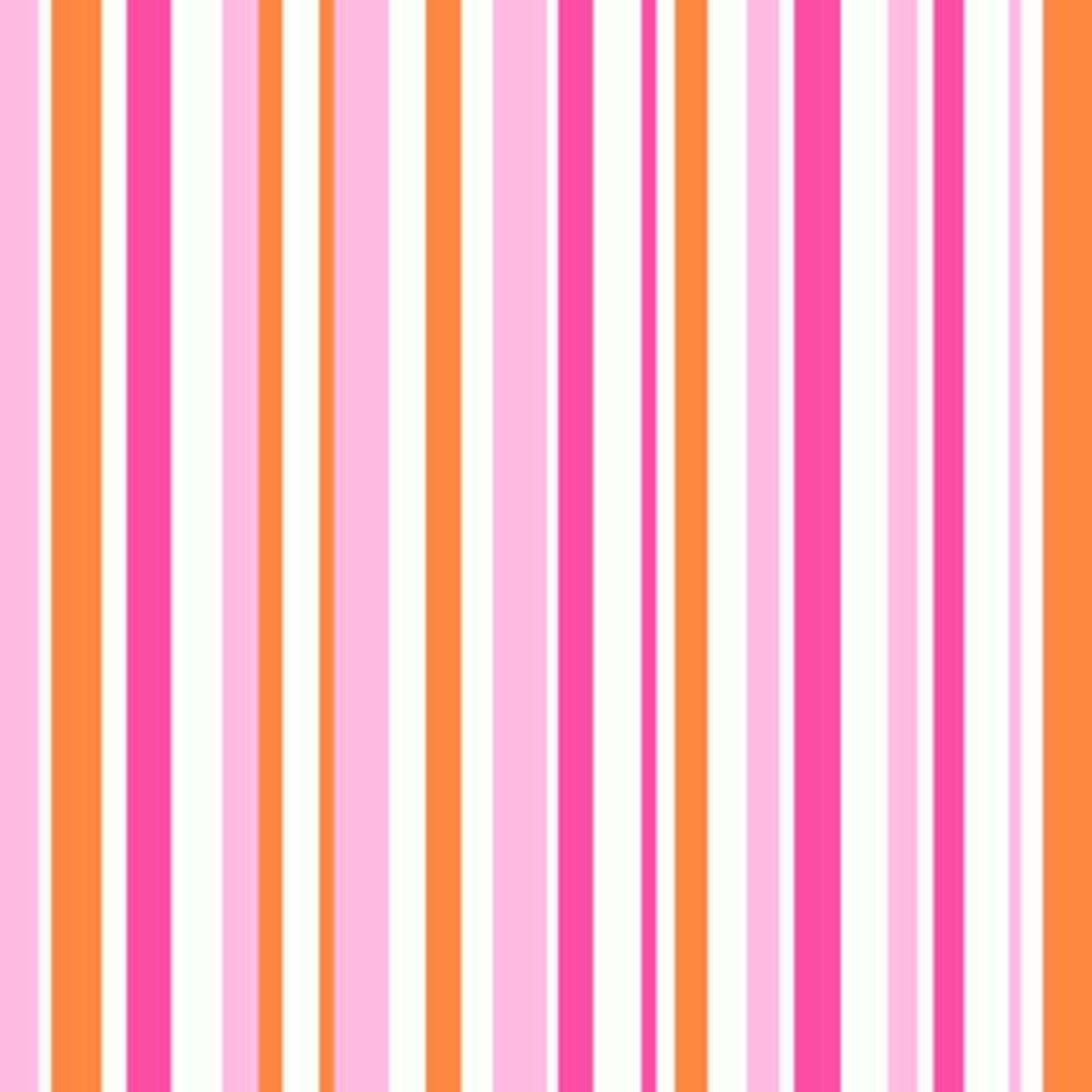 Arthouse Opera Super Stripe Wallpaper Pink, Orange (533605