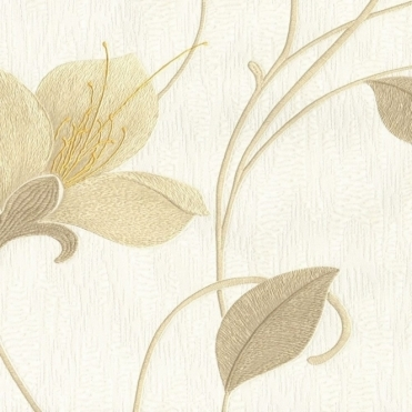 Opus Juliet Floral Wallpaper Neutral (33770)
