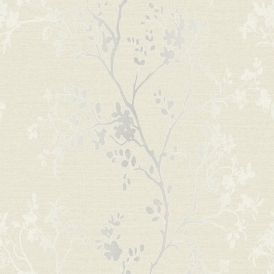 Orabella Tree Wallpaper Pearl