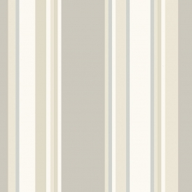 Orla Stripe Wallpaper Neutral