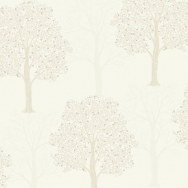 Ornella Tree Wallpaper Cream