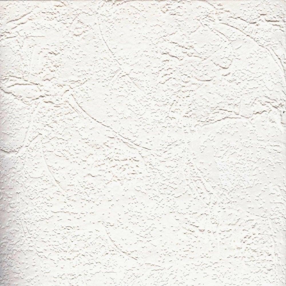 Paintable Textured Blown Vinyl Wallpaper White W793347