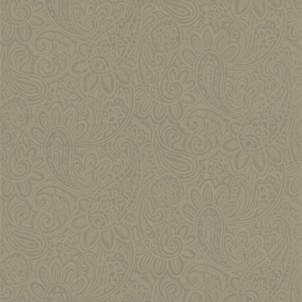 Designer Selection Paisley Wallpaper Bronze Gold 64859