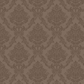 Palais Damask Wallpaper Mink