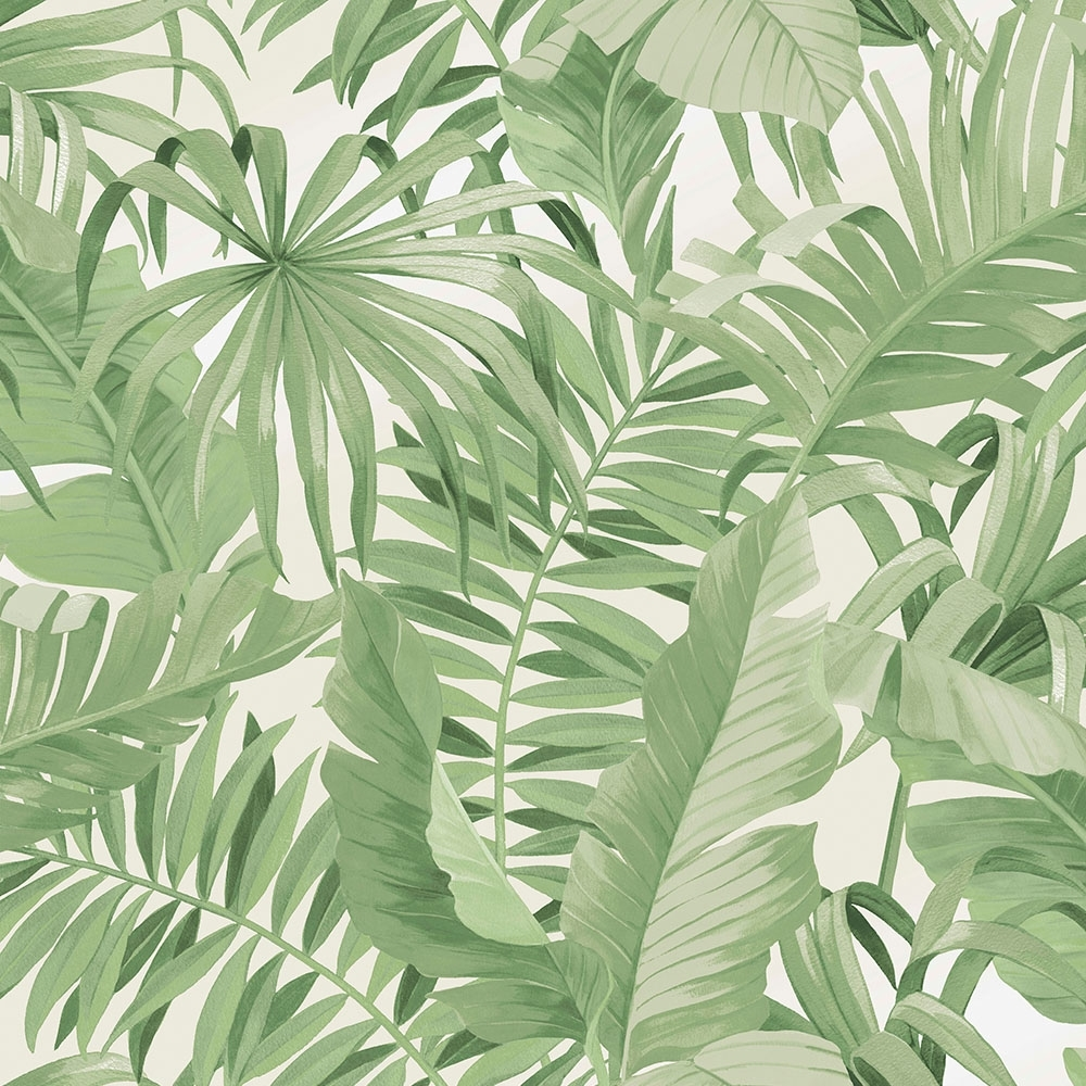 lucie annabel palma tropical wallpaper green