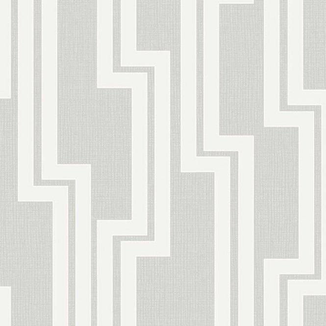 Arthouse Parallel Geometric Wallpaper Dove Grey (901903)