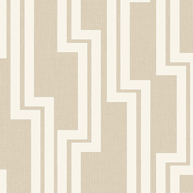 Arthouse Parallel Geometric Wallpaper Neutral (901904)