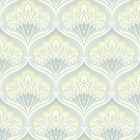 Pavonis Designer Wallpaper Mothball