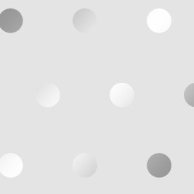 Polka Dots Wallpaper Grey Silver