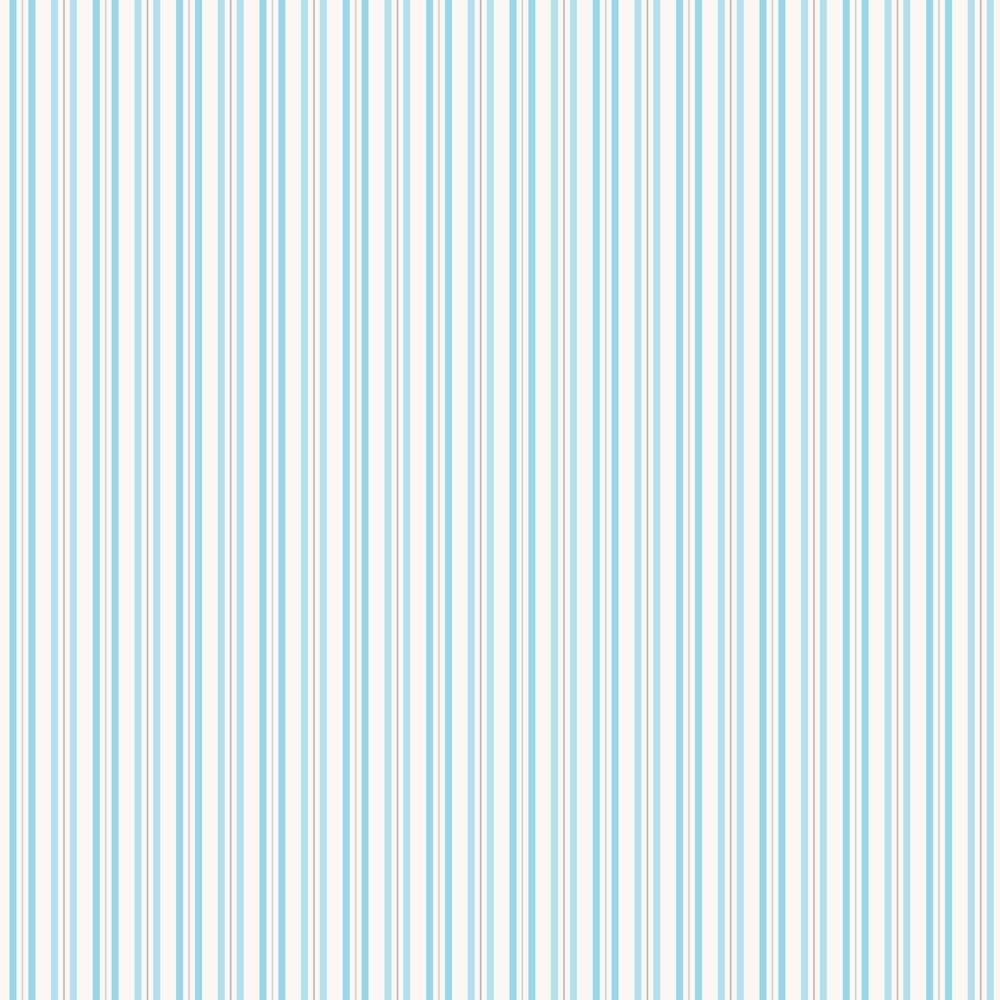 Coloroll Poppet Stripe Wallpaper Peppermint M0725