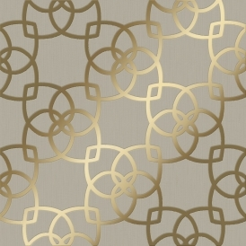 Precious Silks Marrakesh Wallpaper Gold Champagne