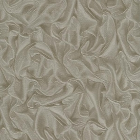 PrimaDonna Crushed Satin Wallpaper Brown Beige Gold