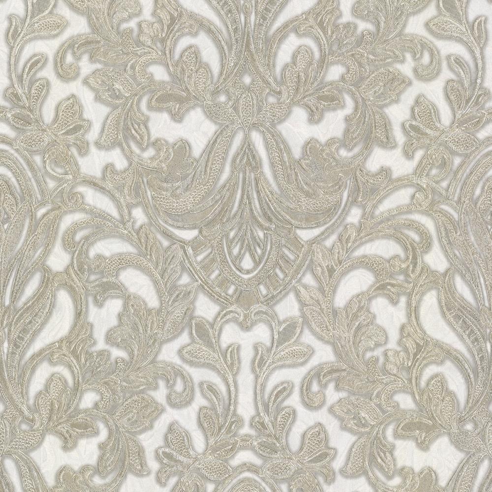 Primadonna Damask Wallpaper Beige Cream Gold Wallpaper From I