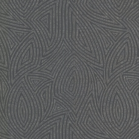 Prism Max Geo Shapes Wallpaper Black Silver