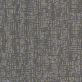 Prism Spencer Evora Wallpaper Dark Blue Gold