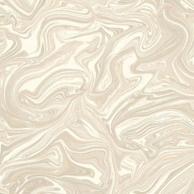 Prosecco Sparkle Marble Wallpaper Cream