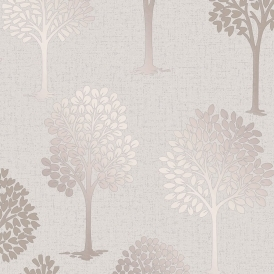 Quartz Tree Wallpaper Rose Gold (FD42208)