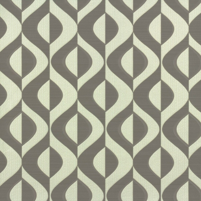 Rasch Retro Geometric Wallpaper Brown, Cream (773958)