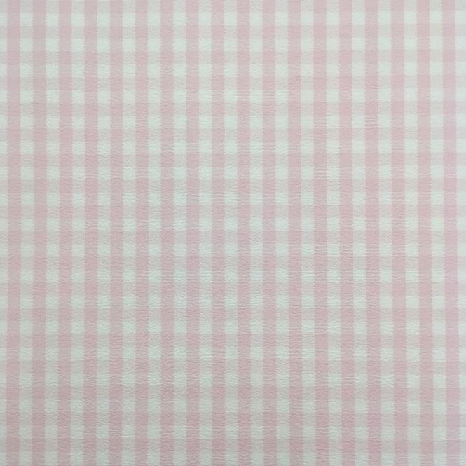Rasch Rosalie Checked Wallpaper White, Pink (259308)