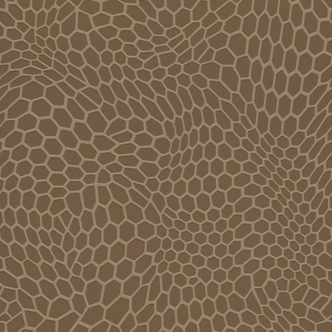 Rasch Trendspots Honeycomb Wallpaper Gold (895520)