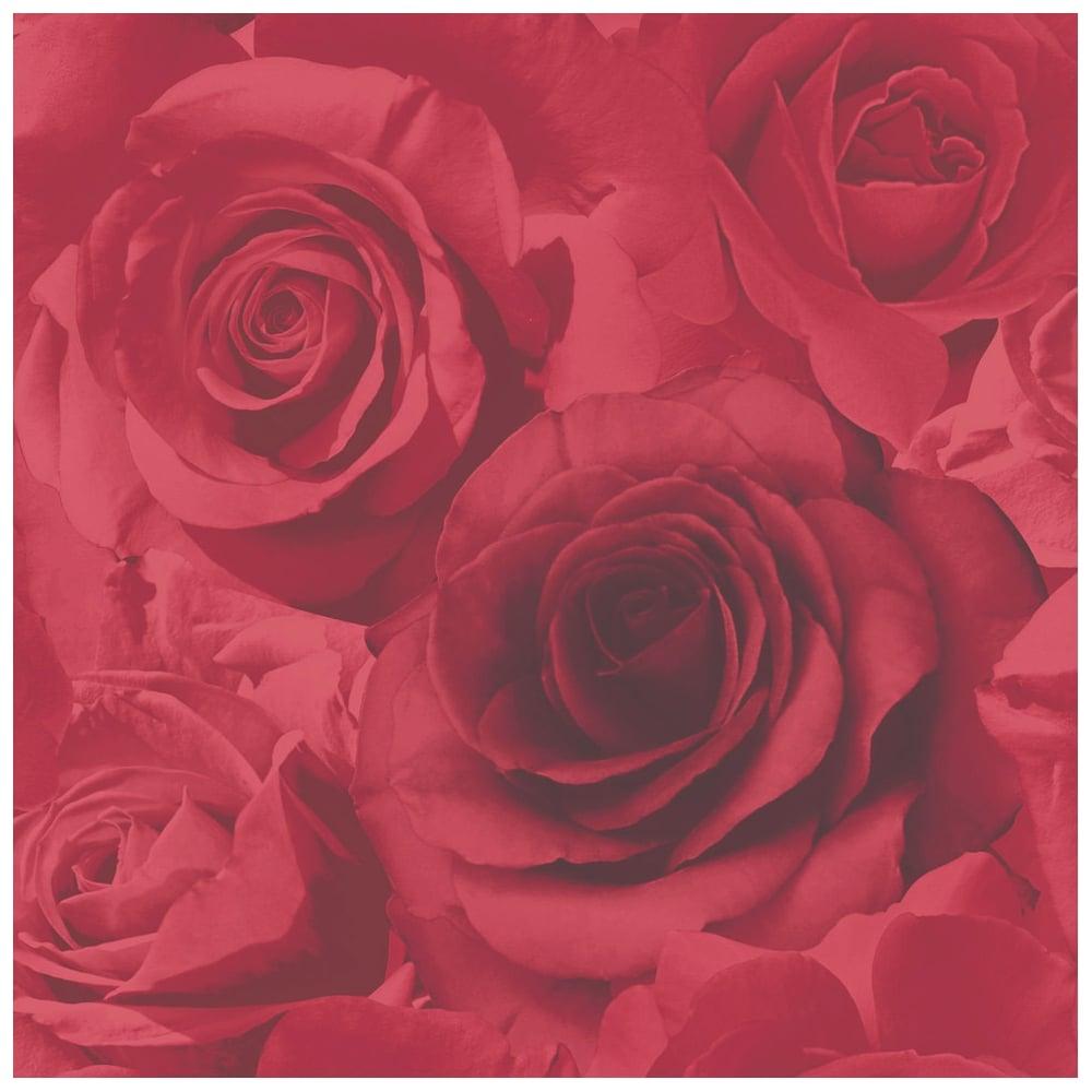 Pink Floral Wallpaper Girls Room