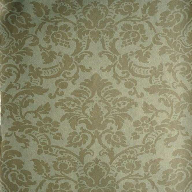 Kenneth James Savoy Paisley Damask Wallpaper Bronze (FD51963)