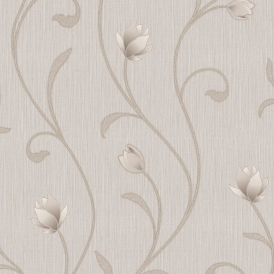 Serafina Floral Wallpaper Bronze