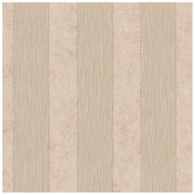Serafina Striped Heavyweight Vinyl Wallpaper Bronze