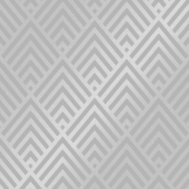 Shard Glitter Geometric Wallpaper Grey Silver
