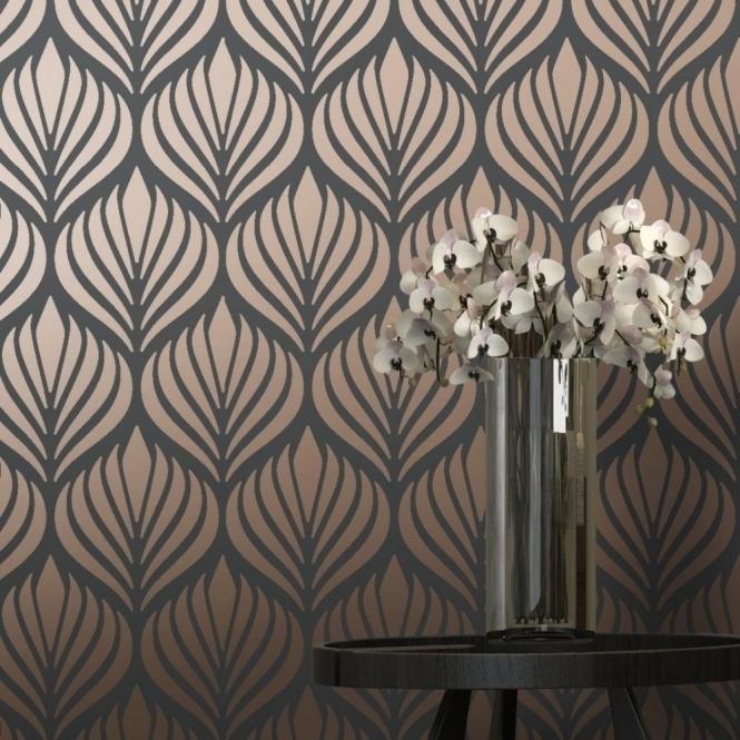 I Love Wallpaper Shimmer Desire Wallpaper Charcoal Copper HD Wallpapers Download Free Images Wallpaper [1000image.com]