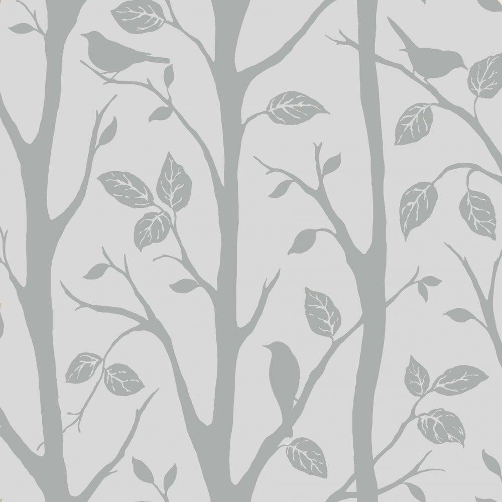 Shimmer Harmony Wallpaper Soft Grey Silver Ilw980052