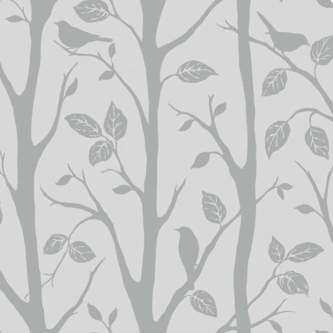 I Love Wallpaper Shimmer Harmony Wallpaper Soft Grey / Silver (ILW980052)