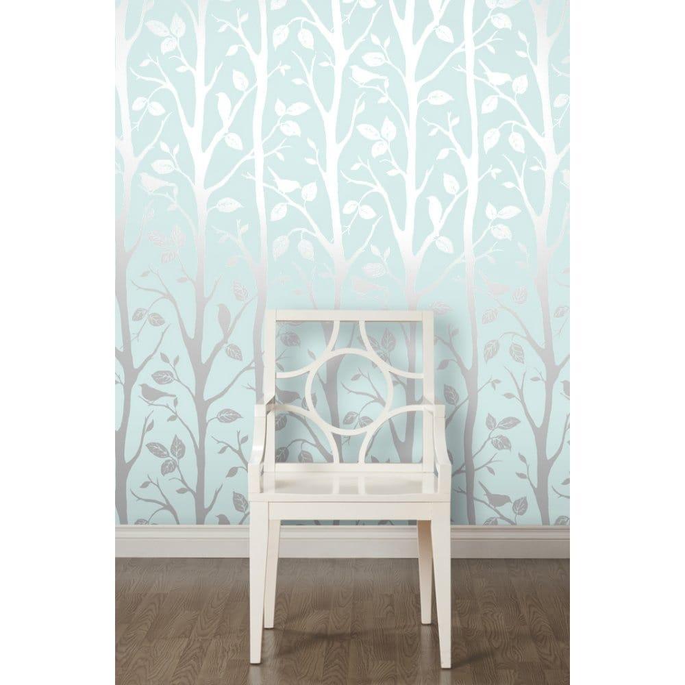 Silver Bedroom Wallpaper I Love Wallpaper Shimmer Harmony Wallpaper Teal Silver