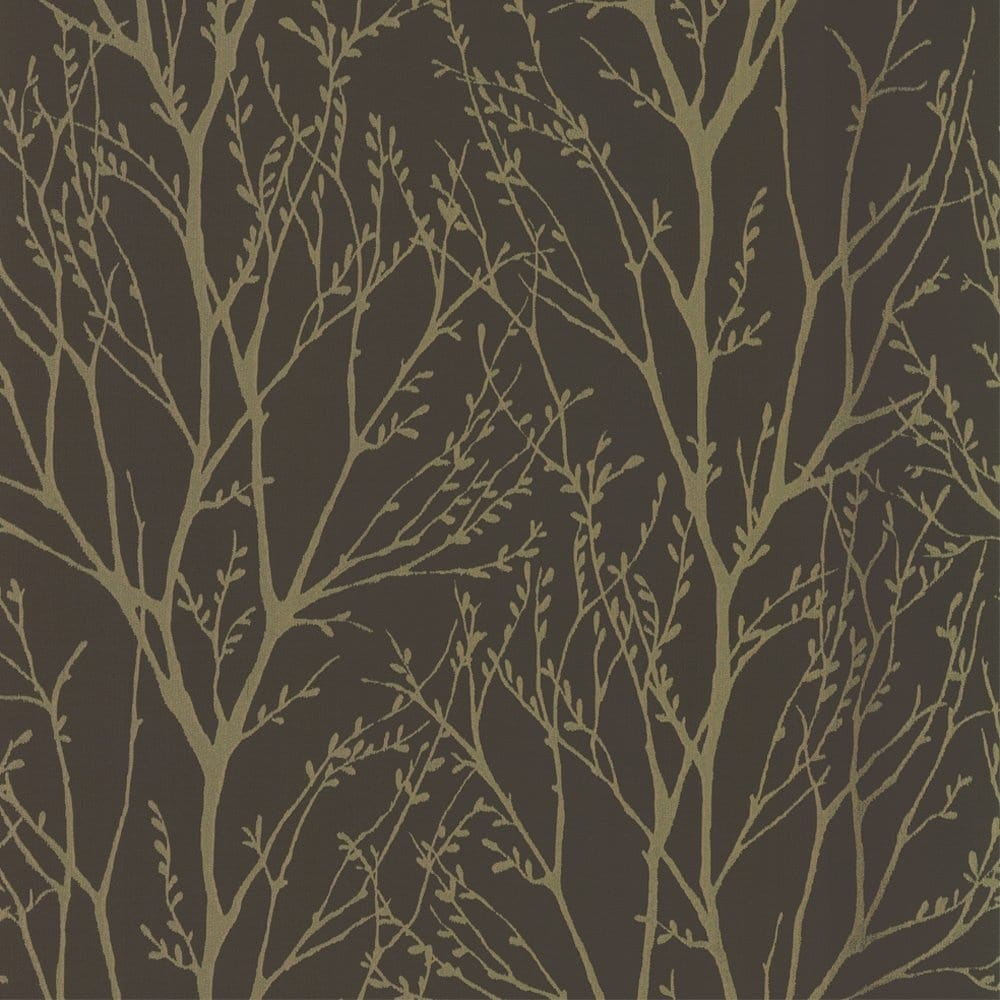 I Love Wallpaper Shimmer Wallpaper Metallic Gold Brown