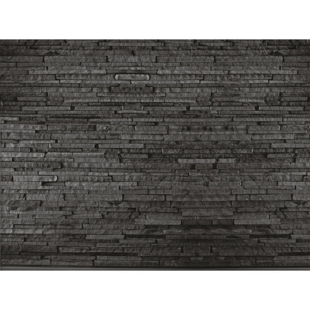 I Love Wallpaper Brick Effect : 1 Wall Slate Brick Effect Wall Mural - Wall Murals from I Love Wallpaper UK