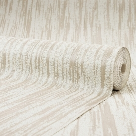 Sorrentino Textured Plain Wallpaper Ivory