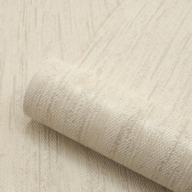 Sorrentino Textured Plain Wallpaper Natural