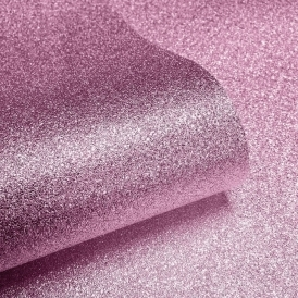 Sparkle Real Glitter Wallpaper Soft Pink