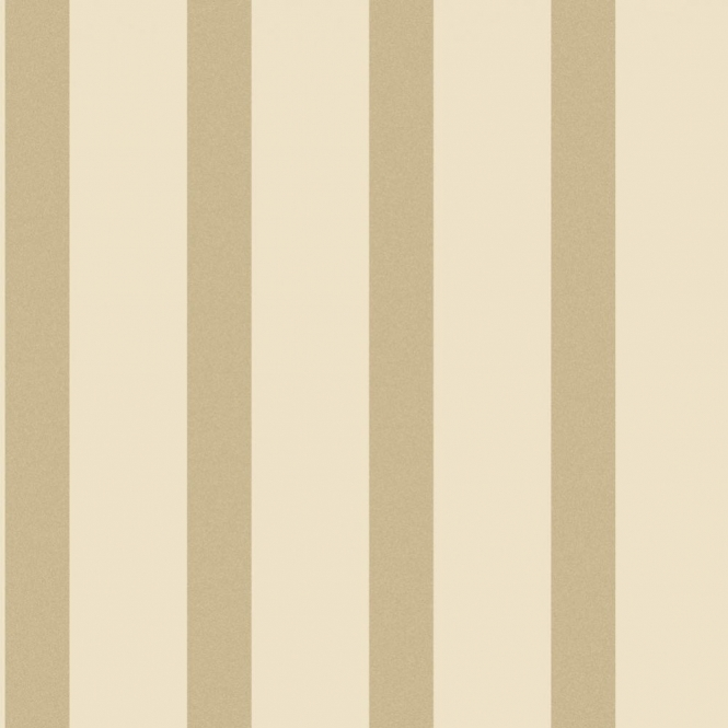 Decorline Sparkle Striped Wallpaper Cream / Gold (DL40217)