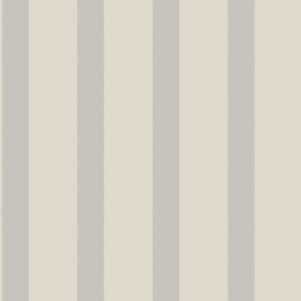 Sparkle Striped Wallpaper Putty / Silver (DL40197)